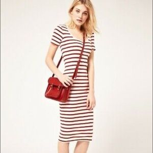 French Connection Dress, Striped Dress EUC